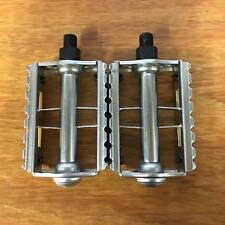 "BICYCLE PEDALS RAT TRAP ROAD BIKES & ALL OTHERS NEW COMMON SIZE 1/2"" THREAD"