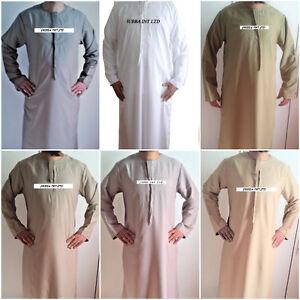 JUBBA Thobe-Jubbah-Arab Dress- 52-54-56-58 ( 10 colours)