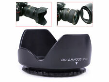 58mm Flower Petal Screw-On Lens Hood Canon Nikon Sony Olympus Pentax UK SUPPLIER