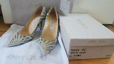 Jimmy Choo Crystal Agnes Pointy Pumps size 39.5/6.5