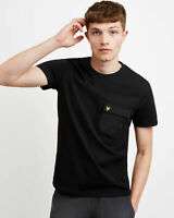 Lyle and Scott Men Nylon Pocket T-Shirt - Cotton