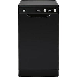 Bomann GSP 7407, Spülmaschine, schwarz