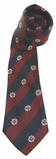 THE COLDSTREAM GUARDS CLASSIC MOTIF  WOVEN UK MADE MILITARY TIE