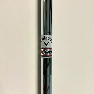 (L) Callaway XHot Steel Chrome Iron Golf Shaft. Uniflex. .370 Tip. 36.875""