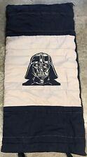 Pottery Barn Kids Star Wars Darth Vader Sleeping Bag Navy