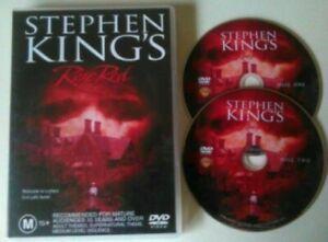 ROSE RED DVD Stephen King MINI SERIES - OVER 4 Hours ! RARE OOP - AUST REGION 4