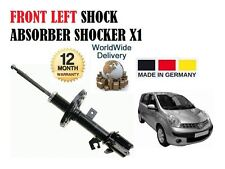 FOR NISSAN NOTE 1.4 1.6 1.5 2006--> NEW FRONT LEFT SHOCK ABSORBER SHOCKER X1