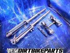 Yamaha YZ250 Fork Front end 46m suspension Complete Conversion shocks 125 450 WR
