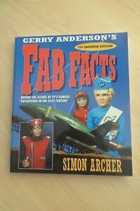 Gerry Anderson's Fab Facts Simon Archer SC Harper Collins 2004