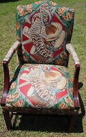Vintage Highland House Upholstered Armchair, Discontinued Print