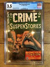 Crime SuspenStories #19 Strangulation Cover! SOTI CGC 3.5 2132971007