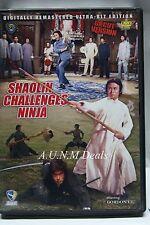 shaolin challenges ninja uncut version ntsc import dvd
