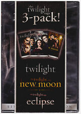TWILIGHT SAGA 3 PACK (DVD) NEW