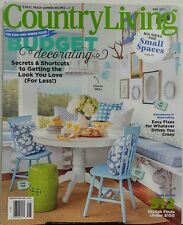 Country Living May 2017 Decorating Big Ideas For Small Spaces FREE SHIPPING sb