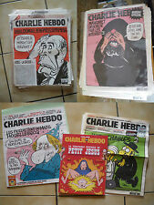 collection  CHARLIE HEBDO 694 hebdos 15 ans  rare COLLECTION