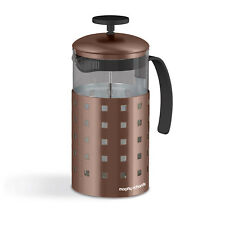 8 Cup Stainless Steel Cafetieres Coffee Filter Maker French Press 1000ml Copper