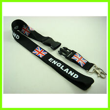 NEW England UK Flag Neck Lanyard Strap Cell Mobile Phone ID Card Holder Keyring