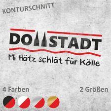 DOMSTADT Köln Autoaufkleber Sticker Aufkleber (2 Größen / 4 Farben)