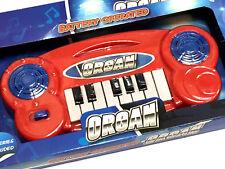 BATTERIA Organo TASTIERA Strumento Musicale Bambini Toy Xmas Natale Stocking Filler