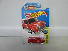 Hot Wheels HW City Works '67 Austin Mini Van Red 10/10