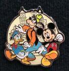 Mickey Goofy Donald Monogram International Inc. Disney Pin