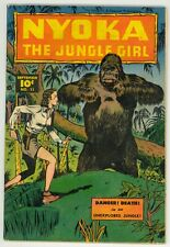 Nyoka The Jungle Girl (1945) #11 1st Print Golden Age Gorilla Cover Fawcett VG
