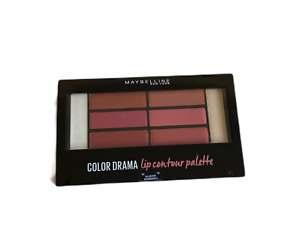 MAYBELLINE COLOR DRAMA LIP CONTOUR PALETTE SHADE BLUSHED BOMBSHELL NEW