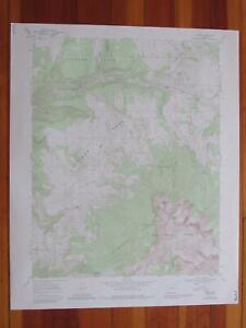 Sams Colorado 1984 Original Vintage USGS Topo Map