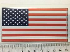 United States of America 50 star flag sticker peel off vinyl