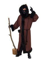 Mantel Ruprecht braun Baumwollstoff Kostüm