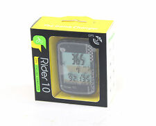 Bryton Cycling Computer Rider 10C GPS Odometer Wireless With Mount, 28 Functions