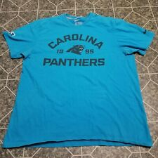 Nike Regular fit Carolina Panthers Blue T-shirt mens size XL