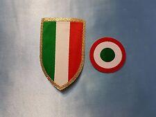 patch toppa scudetto + coccarda coppa italia juventus juve originale 2016 2017