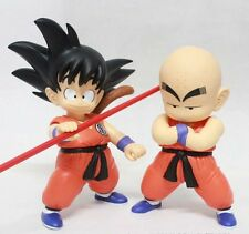 Anime PVC Figures DRAGON BALL Z Son Goku Kuririn Krillin Action Figure Toys 2pcs