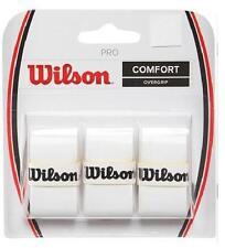 Overgrip Tennis WILSON Pro Overgrip Bianco n.1 confezione da 3