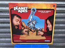Super 7 reacción Planeta De Los Simios POTA Estatua de la libertad de juego