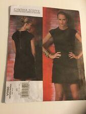 Vogue Cynthia Steffe American Designer Sewing Pattern Misses Dress V1150 Size BB