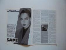 Sade Adu Giorgio Moroder Big Country Stevie Nicks Lloyd Cole clippings Germany