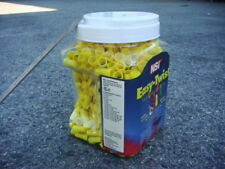 One Lot 1200 Yellow Twist-On Wire Nuts for 22-10 Gauge Wire made by NSi WWC-N1-J