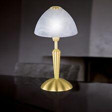 Wofi Action Lampe de table Morley 1-FLG laiton E14 Interrupteur VERRE ALBÂTRE