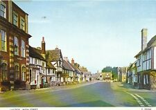 Wiltshire Postcard -  Lacock High Street  LC866