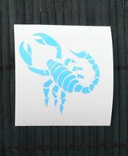 adesivo SCORPIONE scorpion sticker decal vynil vinile casco auto moto car helmet