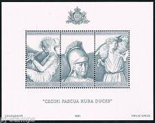 San Marino 1981 blok 8 2000-ste sterfdag Vergilius Postfris  cat waarde € 5,50
