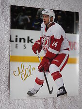 Detroit Red Wings Chad Billins Grand Rapids Griffins Signed 8x10 Photo Auto