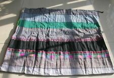 Chinese Minority people Girl Old Batik Embroidery Skirt