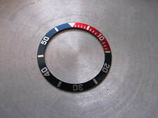 -  Pepsi (red/blue) BEZEL Insert  for SEIKO DIVER 7S26-0050 Automatic New