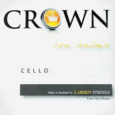 Crown 4/4 Cello String Set - Medium Gauge