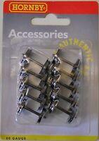 Hornby R8097 - 3 Hole Disc Wheels - 12.6mm Diameter Pack of 10        00 Railway