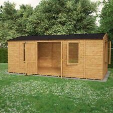 Garden Sheds 20 X 10 gabled 20x10' size workshop garden sheds | ebay