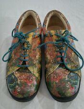 Icon lace up art Van Gogh fields shoes sz 5